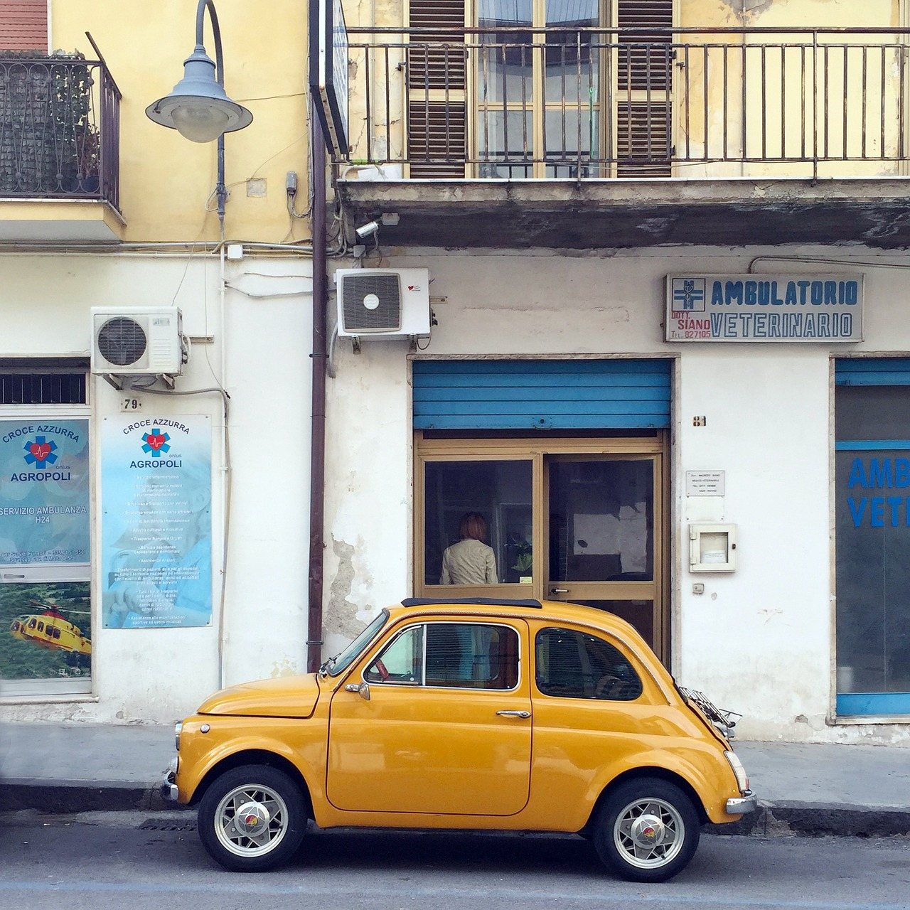 Fiat 500, the really small car