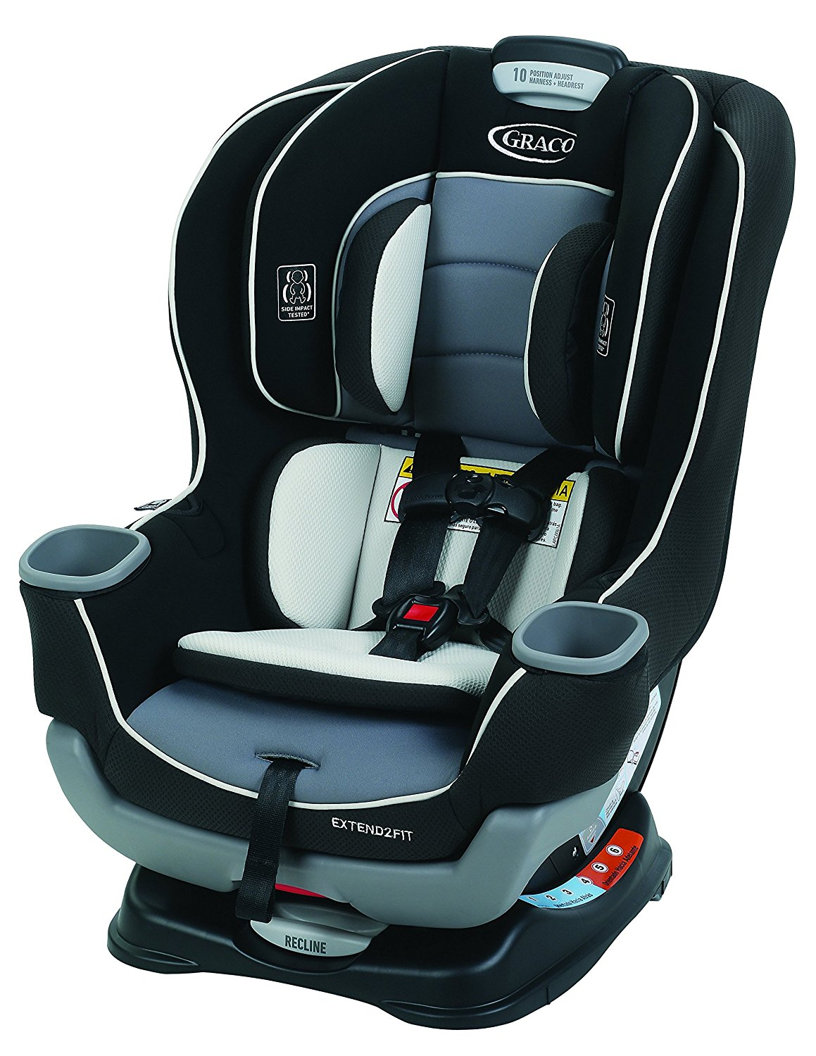 3. Graco Extend2Fit Convertible