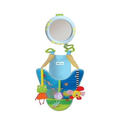 8. Taf Toys All-in-One In-Car Play Center