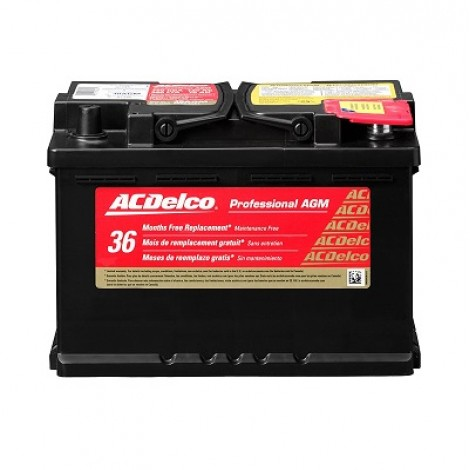3. ACDelco 48AGM Professional