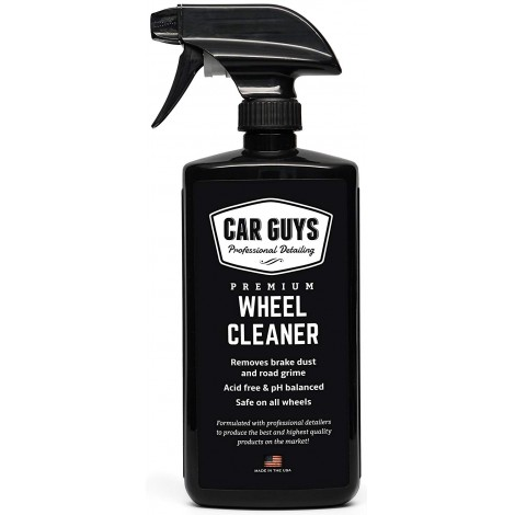 4. CarGuys Best Wheel and Tire Cleaner