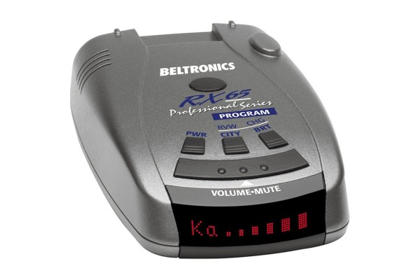 An in-depth review of the Beltronics RX65 radar detector.