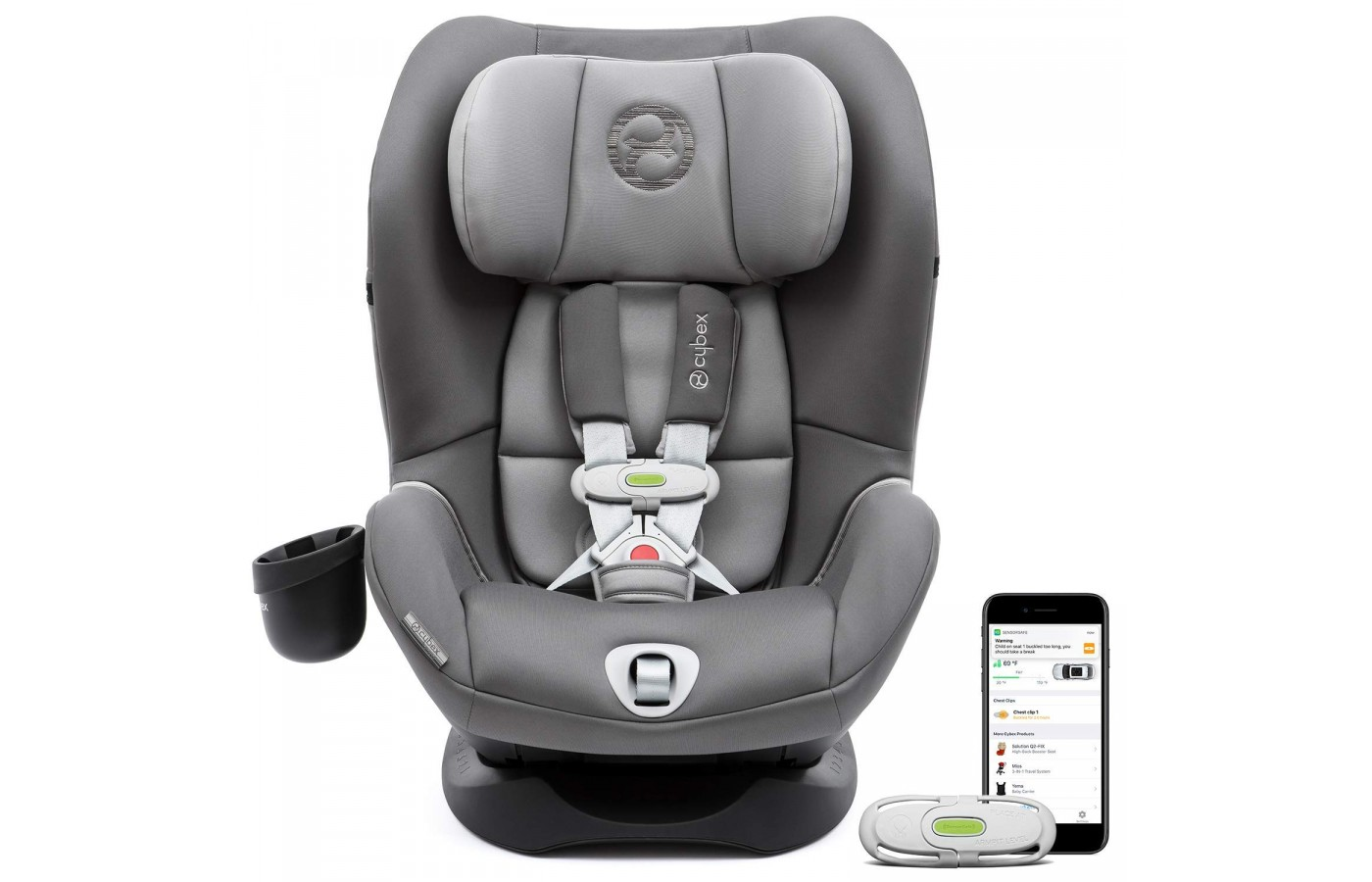 This car seat has Smart SensorSafe technology