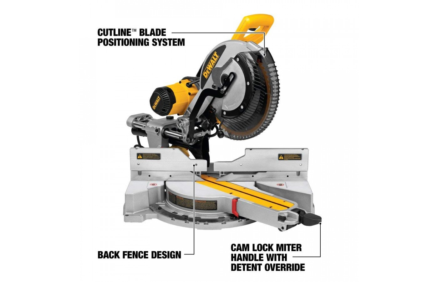 This miter saw is lightweight.