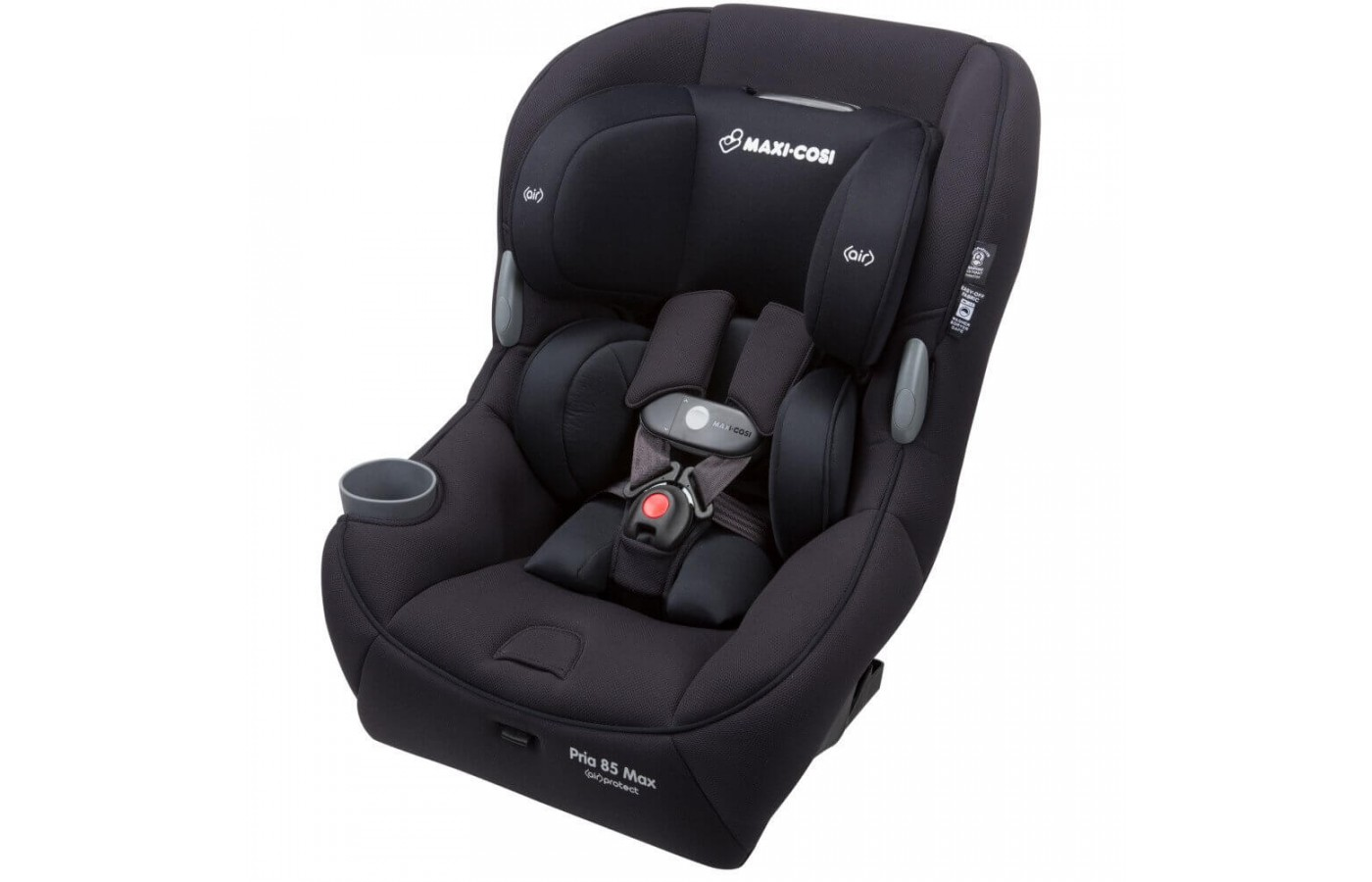 The seat can accommodate children up to 85 pounds