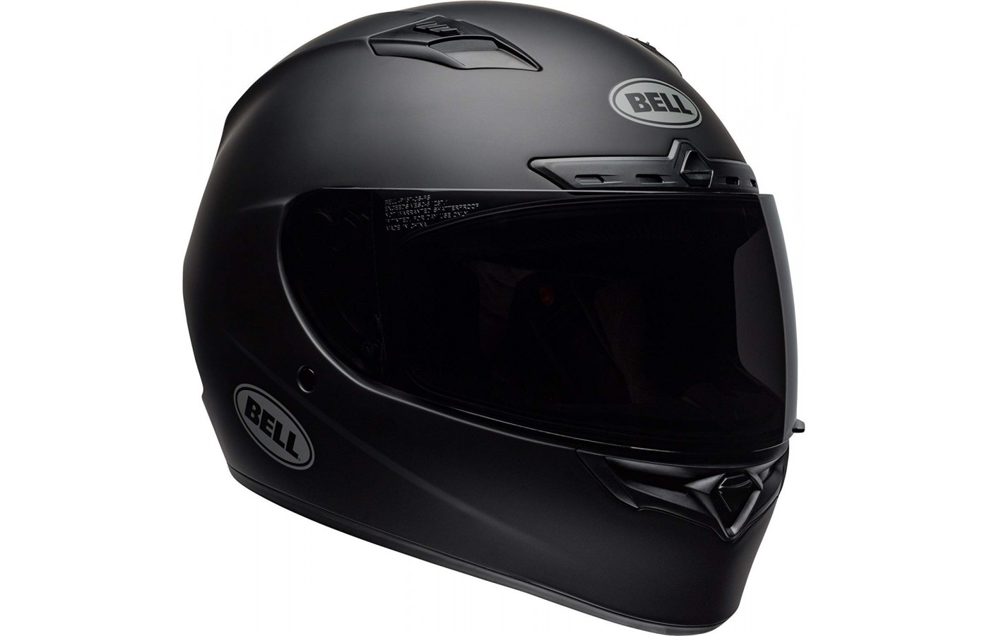 This helmet's main selling point was its face shield