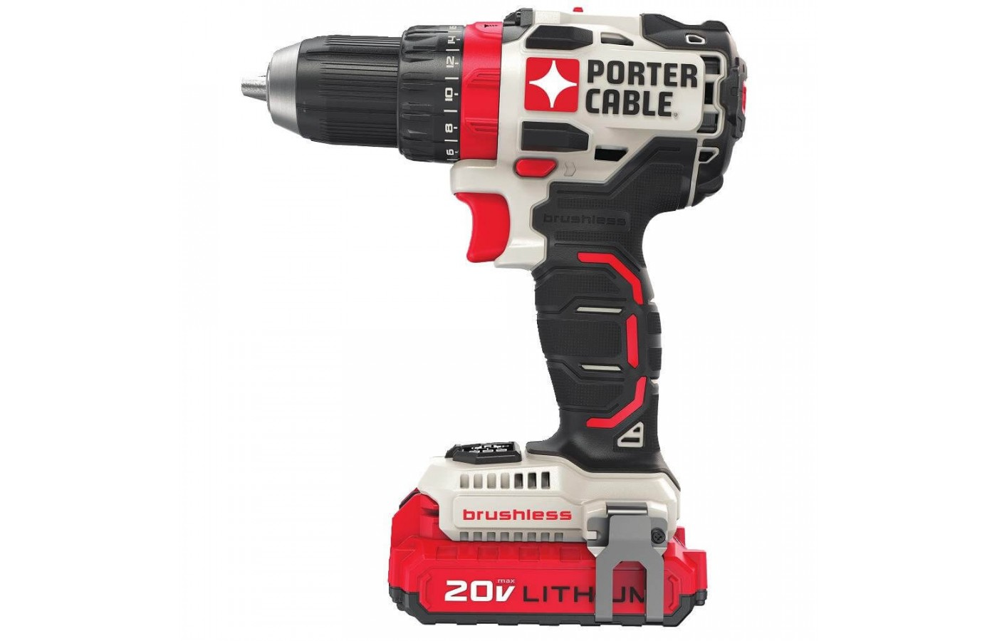 This drill is small and compact