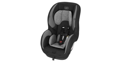 An in-depth review of the Evenflo SureRide car seat.