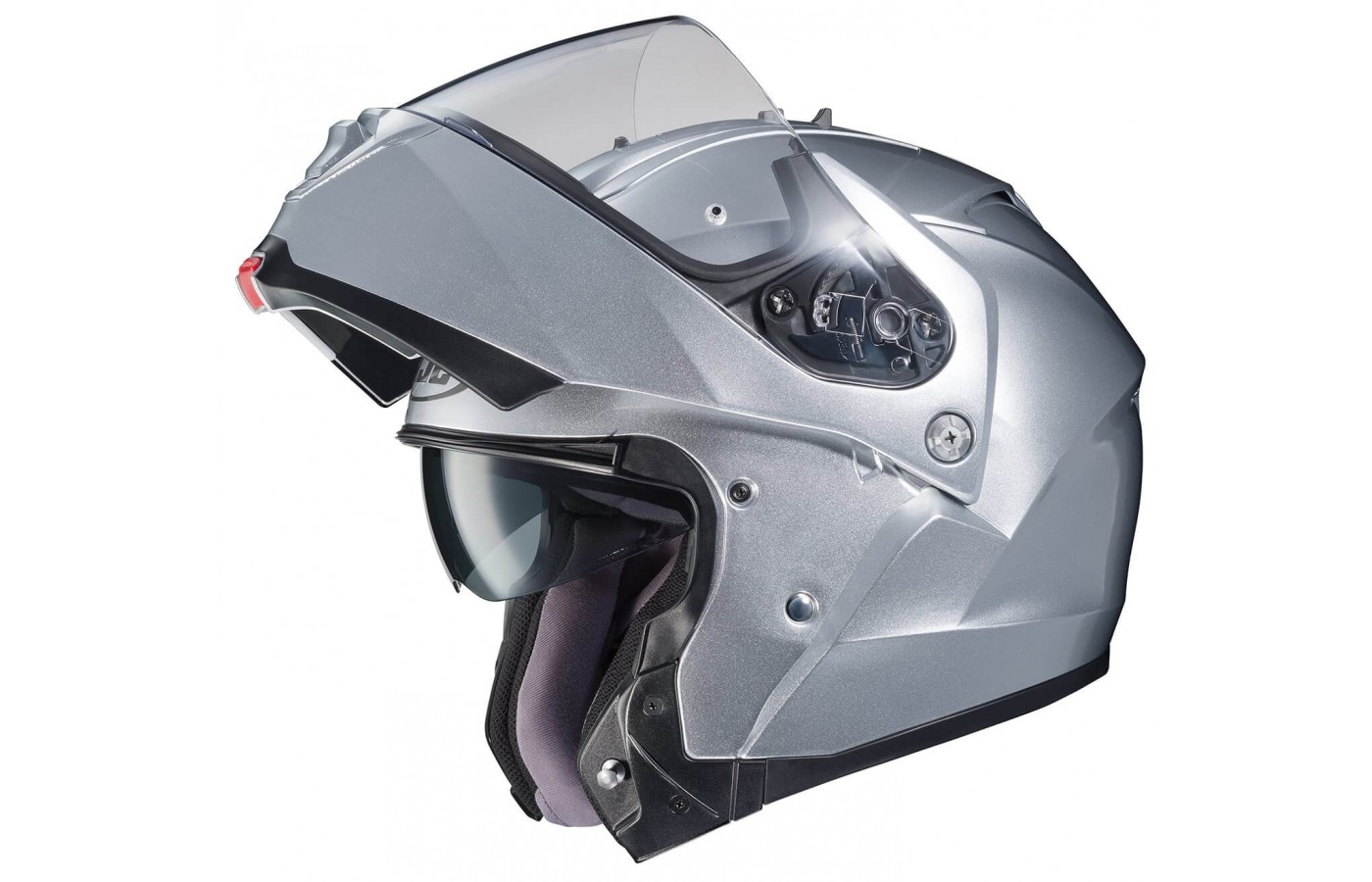 The visor is easy to adjust