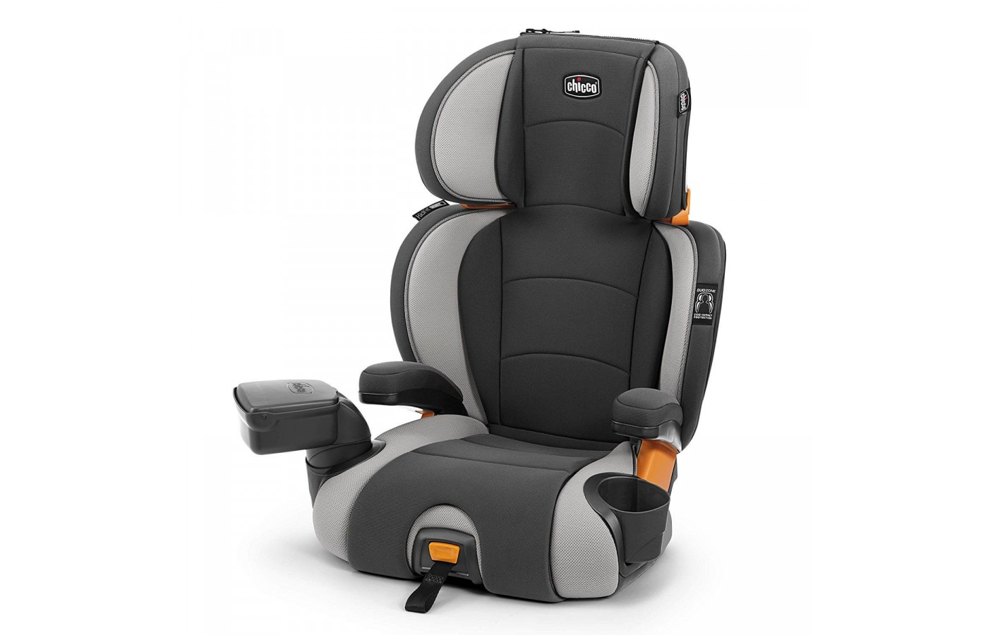 The seat can be used in high-back and backless modes