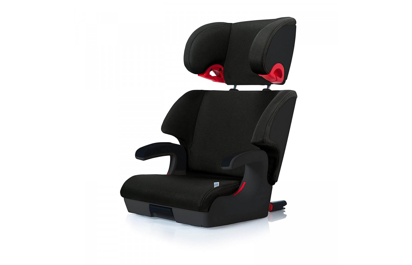 The car seat can be used in high-back and backless modes