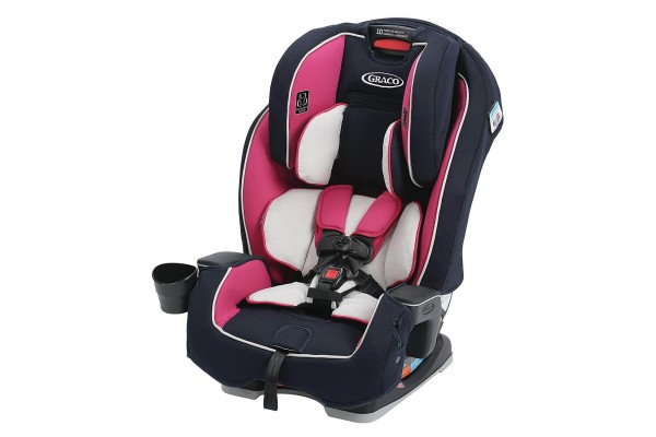 An in-depth review of the Graco Milestone All-In-One car seat.