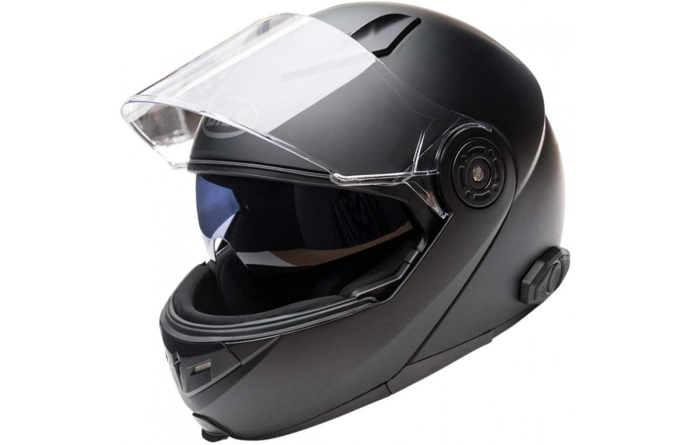 You can open and close the Bilt Techno 2.0's  visor.