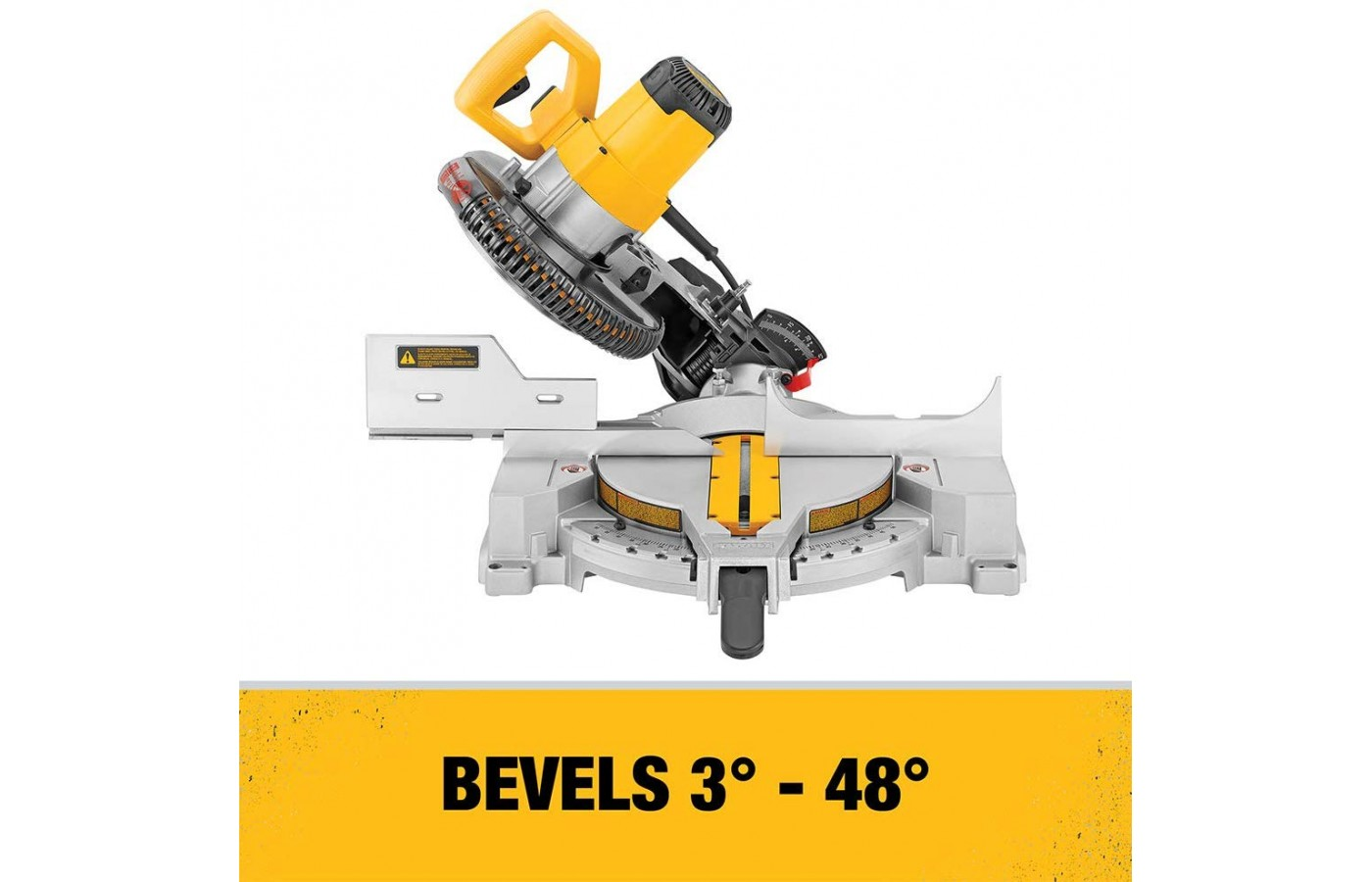 The Dewalt DW713 is easy to use.