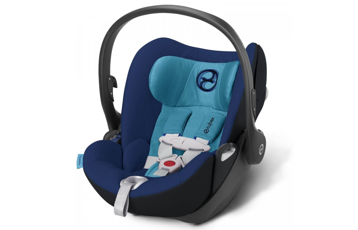 The Cybex Cloud Q has many safety features.