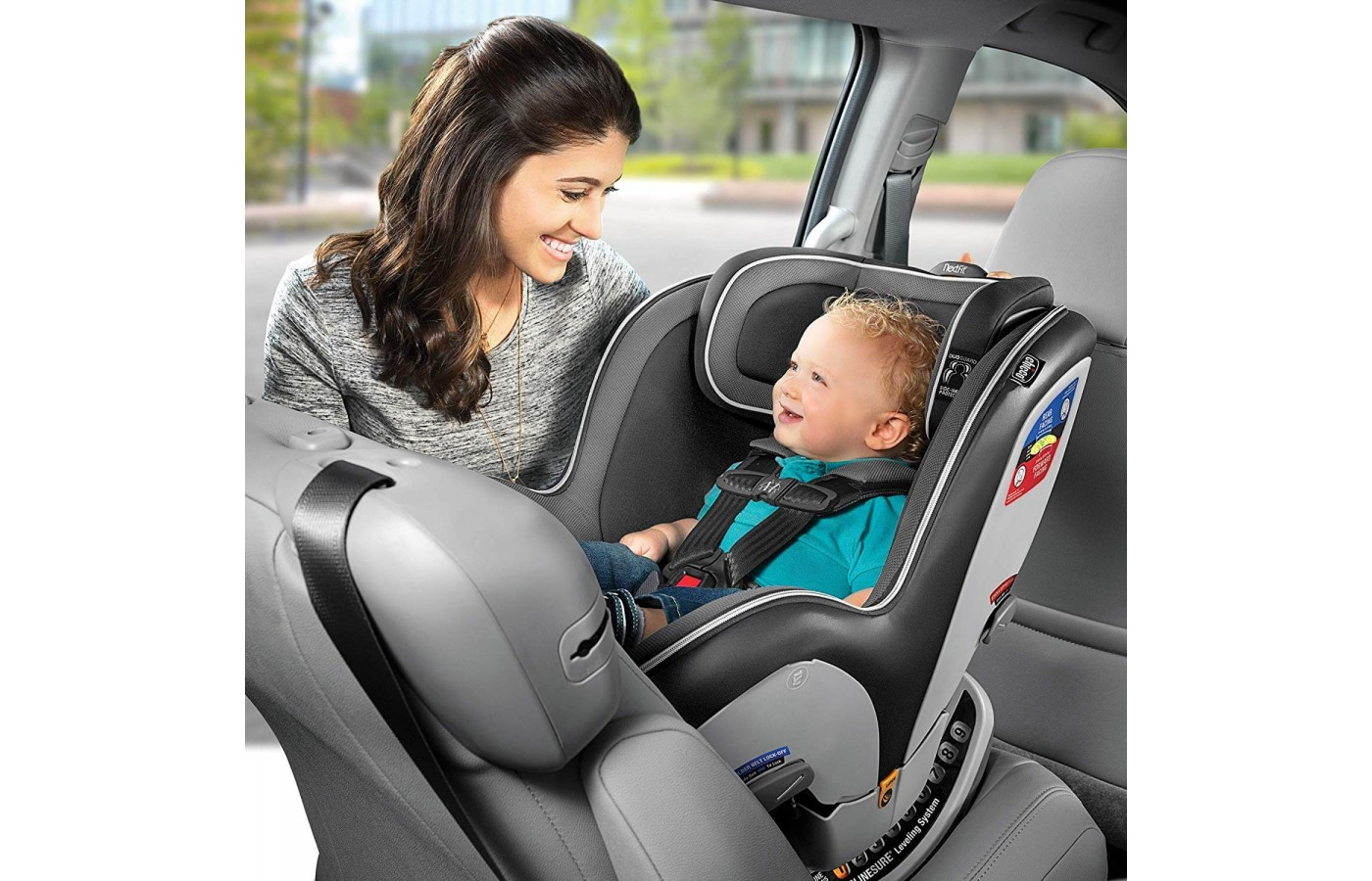 It's a convertible car seat.
