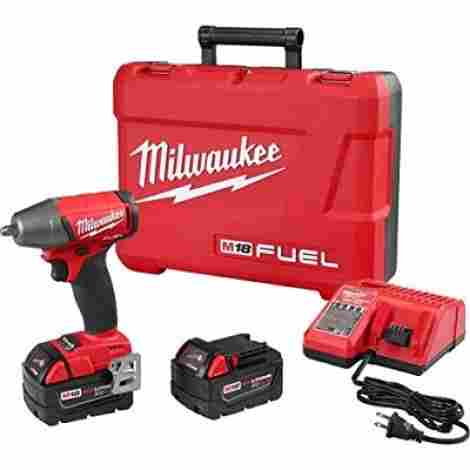 8. Milwaukee Impact Wrench Kit