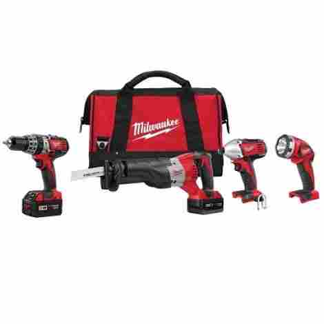 9. Milwaukee Combo Tool Kit