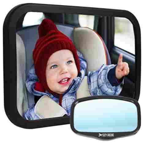 Cozy Greens Offers An Assortment Of Features With Their Car Seat Mirror Its Ridiculously Simple To Install Has A Great Warranty And Allows Your Child