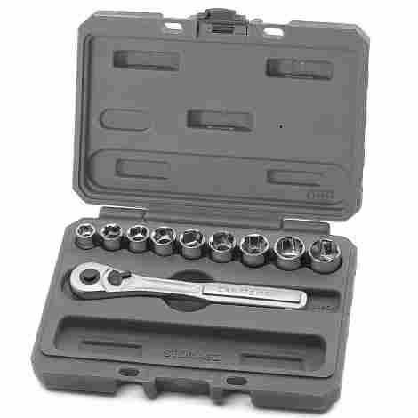 3. Craftsman Dr. Metric Socket Wrench Set