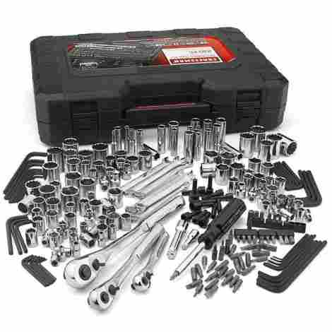 1. Craftsman 50230  Silver Mechanics Tool Set