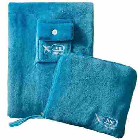 10. Lug Blanket and Pillow