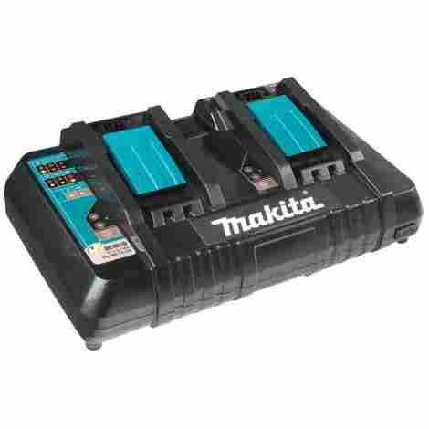 8. Makita Dual Port Rapid Charger