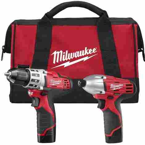 5. Milwaukee Drill Set
