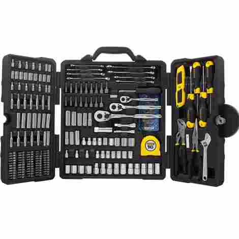 8. Stanley Mixed Tool Set