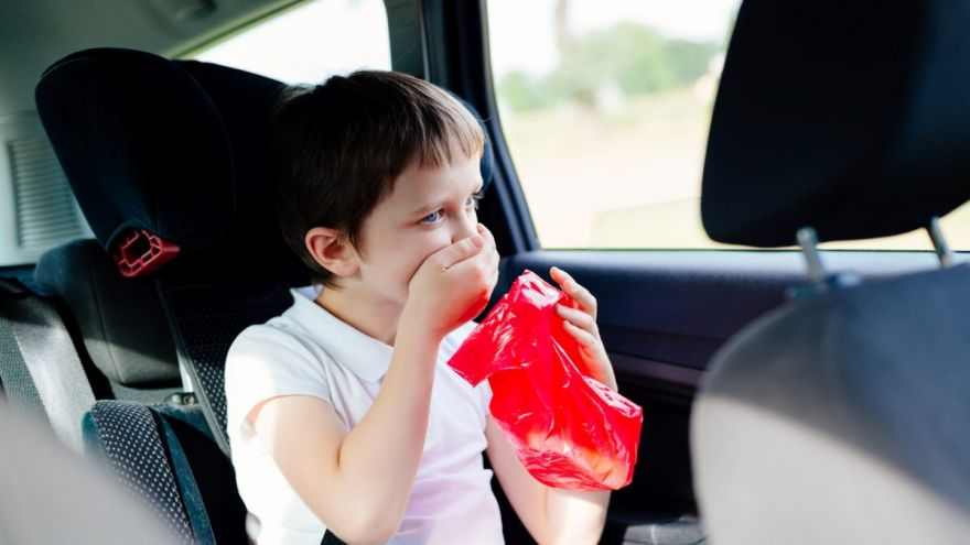 prevent motion and car sickness