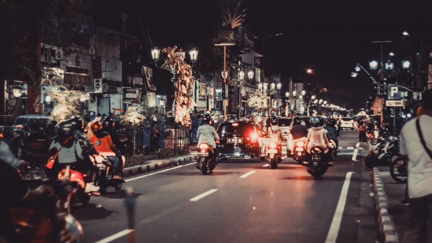 an in depth guide for motorcyclists on how to handle night riding